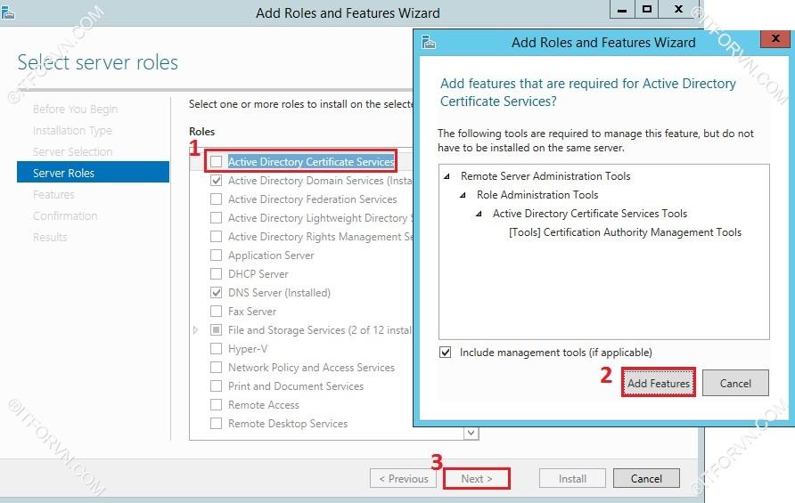 802.1X Tren Window Server 2012-02