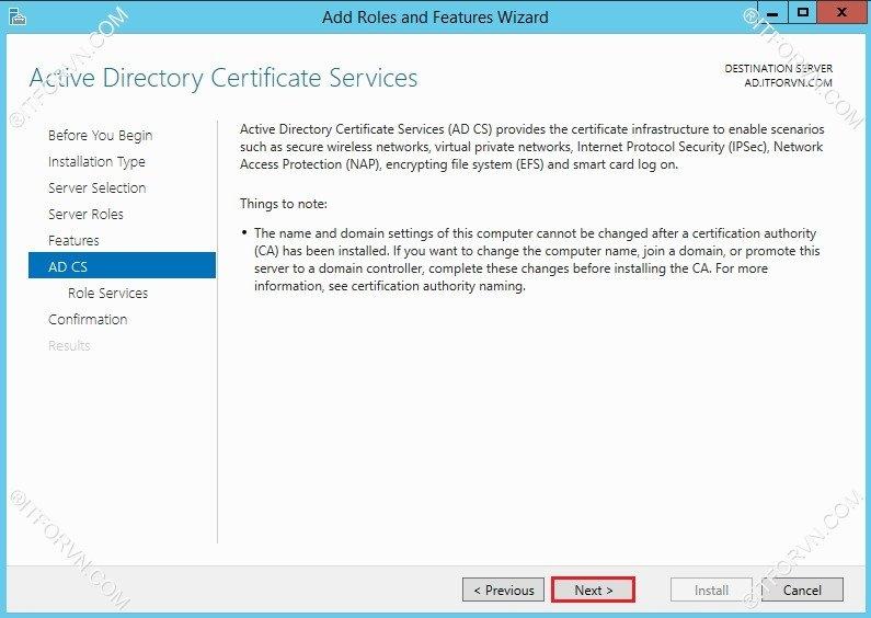 802.1X Tren Window Server 2012-04