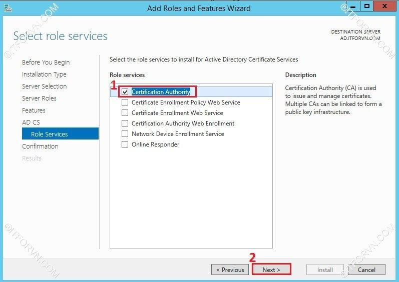 802.1X Tren Window Server 2012-05
