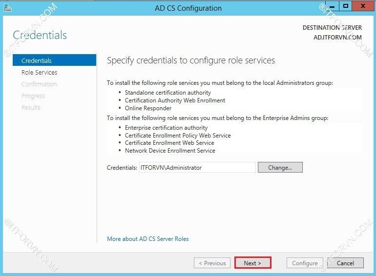 802.1X Tren Window Server 2012-08