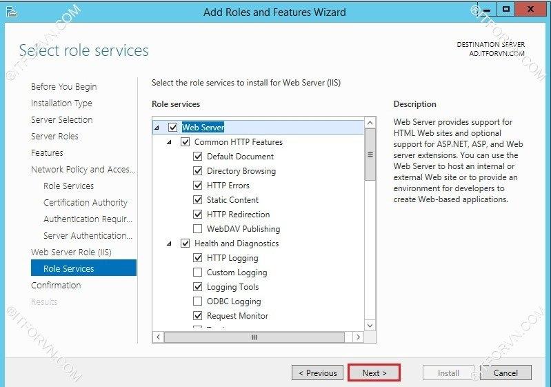 802.1X Tren Window Server 2012-28