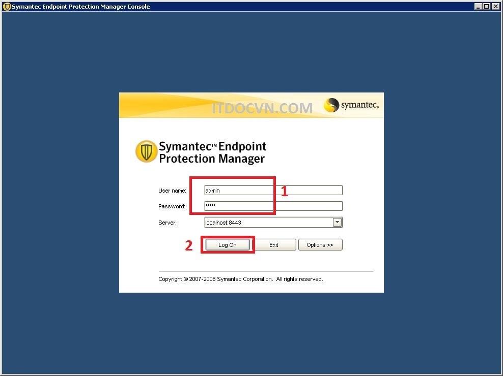 Recover Password SEPM 11 2 1 - Recover Password Admin SEMP 11.x