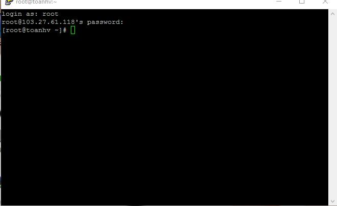 ITFORVN.COM dangnhap-thanh-cong Cài đặt webserver trên centos 6.x