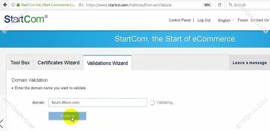Setup Start SSL Nginx 12 - Cấu hình SSL Cho web Server - Part 1 Đăng ký SSL