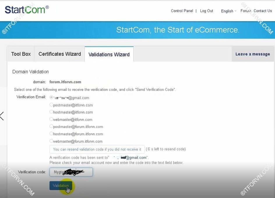 Cấu hình SSL Cho web Server - Part 1 Đăng ký SSL - ITFORVN COM