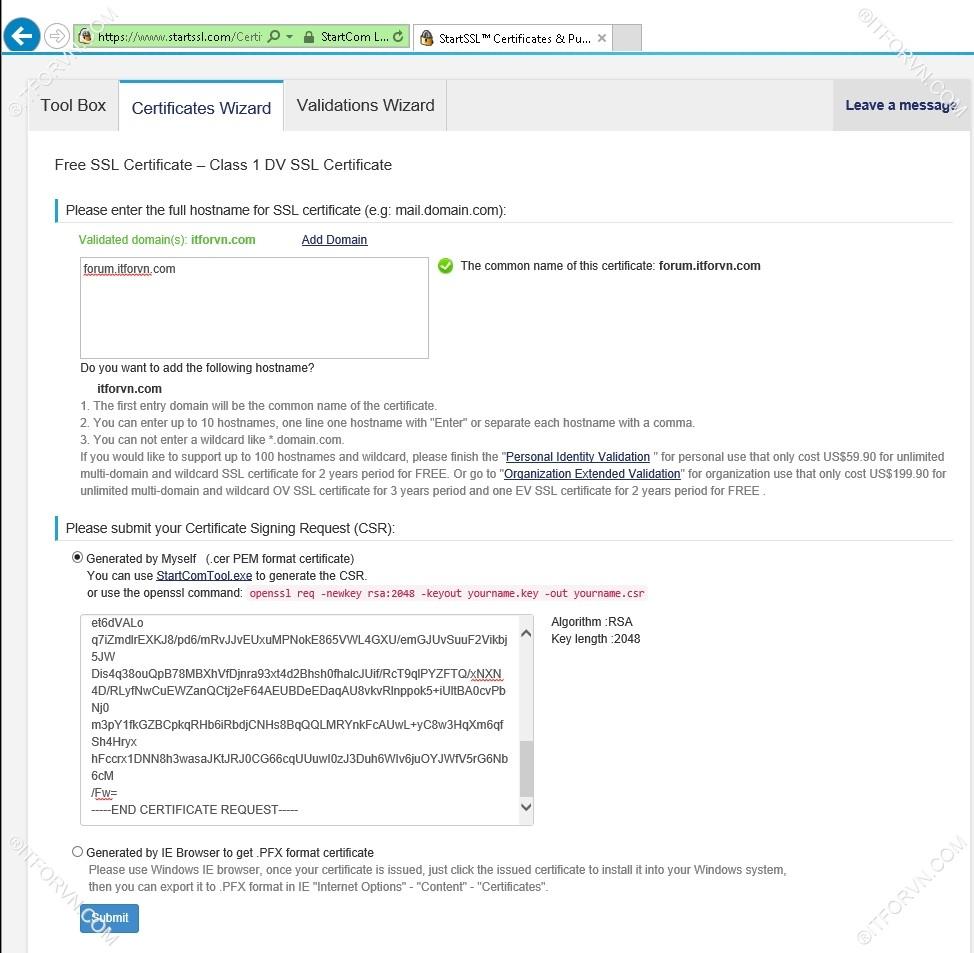 Setup Start SSL Nginx 20 - Cấu hình SSL Cho web Server - Part 1 Đăng ký SSL