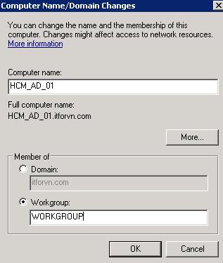ITFORVN.COM 11111111111-24 Nâng cấp Active Directory từ 2008 - 2012 một cách an toàn nhất với FSMO.