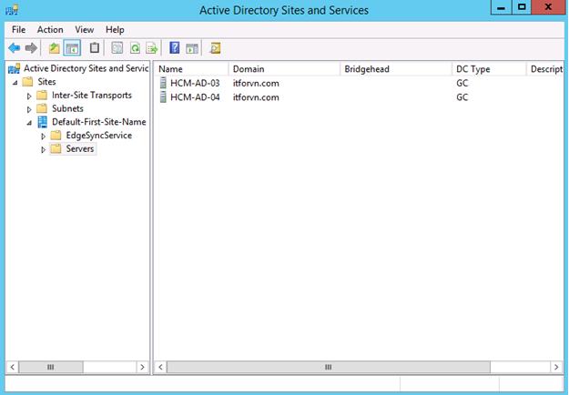 ITFORVN.COM 11111111111-36 Nâng cấp Active Directory từ 2008 - 2012 một cách an toàn nhất với FSMO.