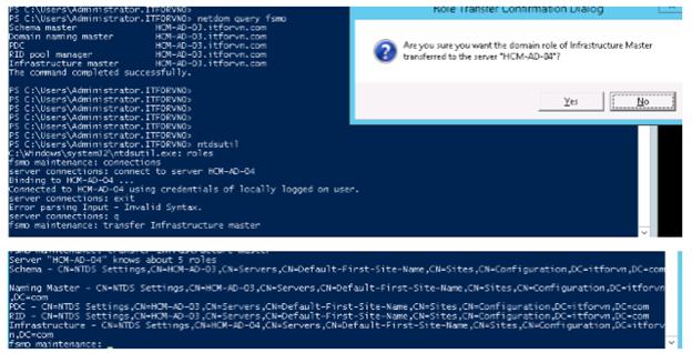 ITFORVN.COM 11111111111-38 Nâng cấp Active Directory từ 2008 - 2012 một cách an toàn nhất với FSMO.