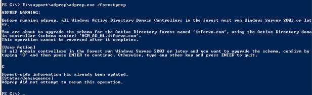 ITFORVN.COM 11111111111-6 Nâng cấp Active Directory từ 2008 - 2012 một cách an toàn nhất với FSMO.