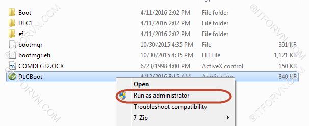 Hirrent boot install windows os qua network 1 - [All In One] Sử dụng Hirent boot + Cài đặt Windows + Ghost OS qua LAN chỉ với vài thao tác