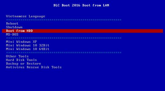 Hirrent boot install windows os qua network 7 - [All In One] Sử dụng Hirent boot + Cài đặt Windows + Ghost OS qua LAN chỉ với vài thao tác