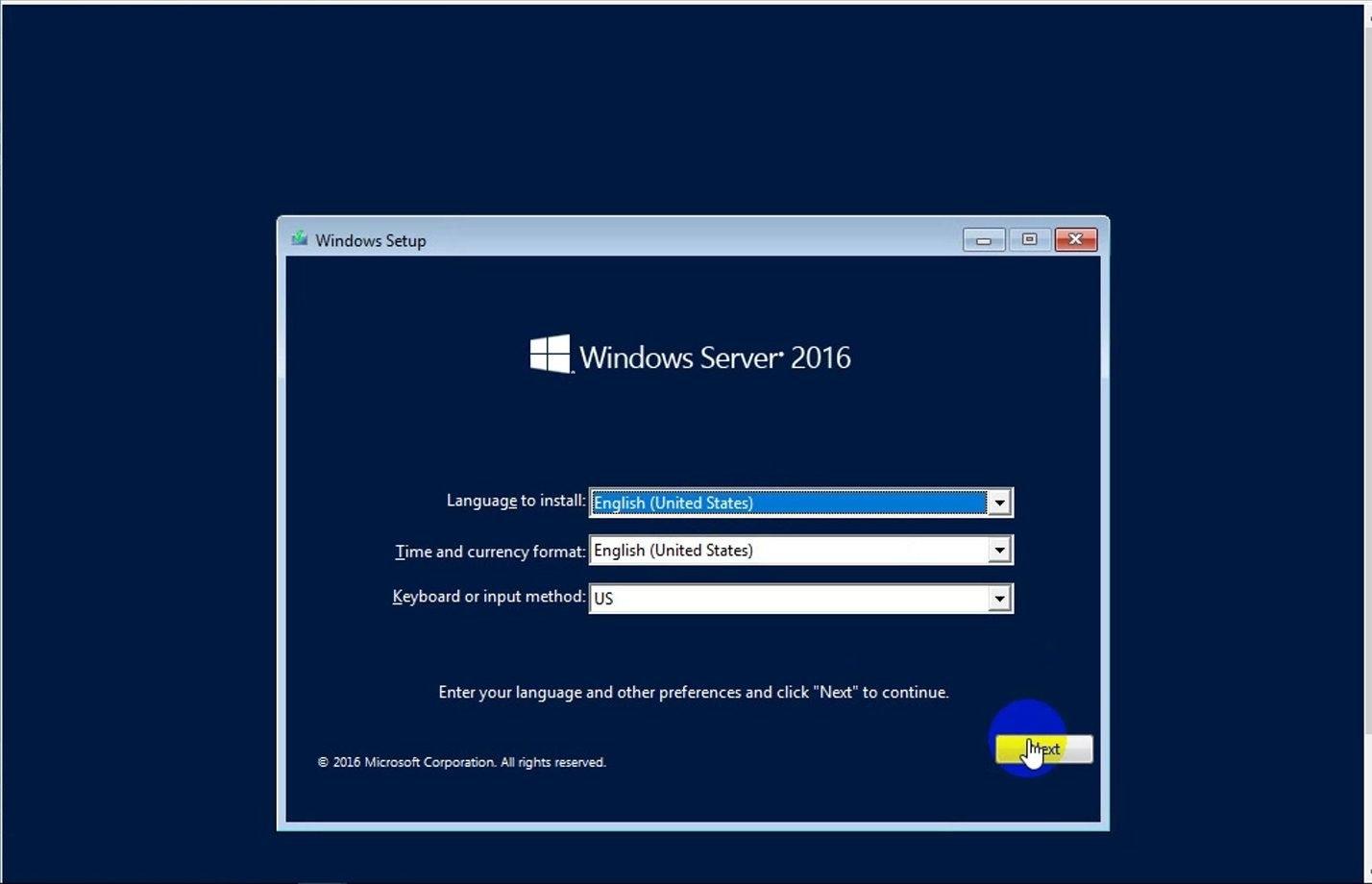 ITFORVN Bài 1 Part1 Cài đặt Windows Server 2016 20 e1491171737301 - [Tự học MCSA MCSE 2016] - Lab-1-Part1-Cài đặt Windows Server 2016