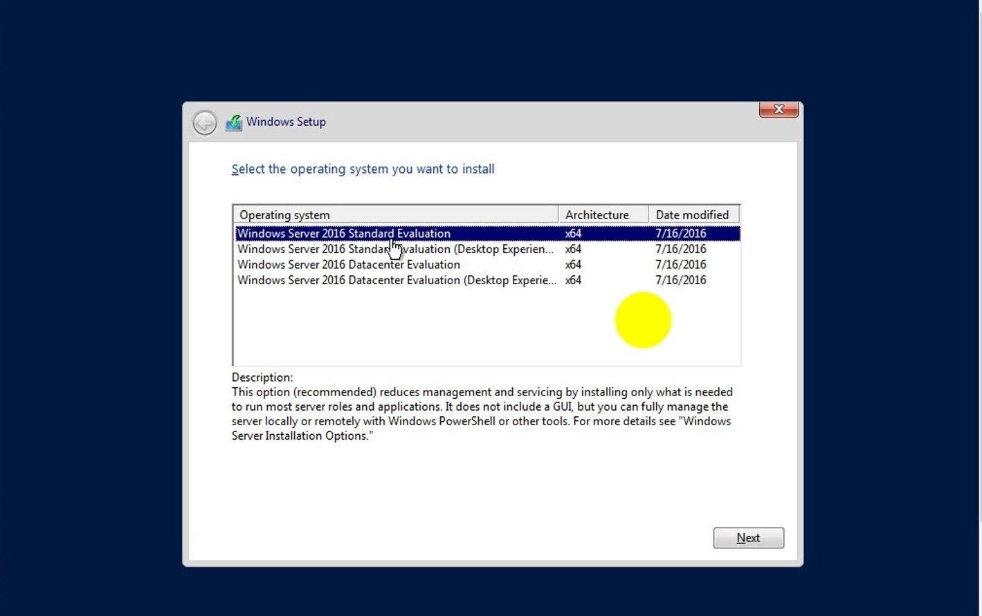 ITFORVN Bài 1 Part1 Cài đặt Windows Server 2016 22 e1491171774436 - [Tự học MCSA MCSE 2016] - Lab-1-Part1-Cài đặt Windows Server 2016