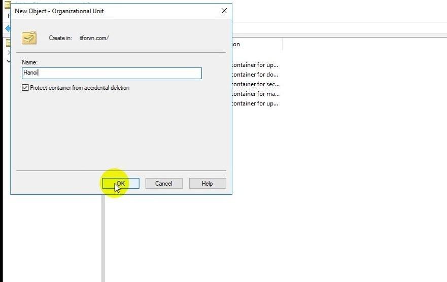 ITFORVN Bài 10 Cấu hình OU Group User trong Active Directory 0421 e1493117346730 - [Tự học MCSA MCSE 2016]-Lab 10-Cấu hình OU Group User trong Active Directory
