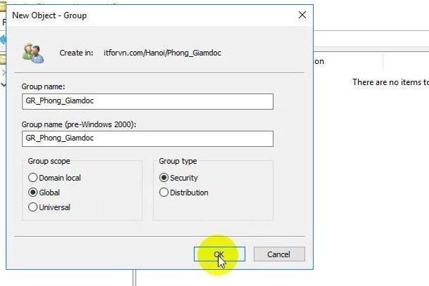 ITFORVN Bài 10 Cấu hình OU Group User trong Active Directory 0886 e1493118236210 - [Tự học MCSA MCSE 2016]-Lab 10-Cấu hình OU Group User trong Active Directory