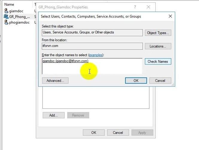 ITFORVN Bài 10 Cấu hình OU Group User trong Active Directory 1175 e1493119359239 - [Tự học MCSA MCSE 2016]-Lab 10-Cấu hình OU Group User trong Active Directory
