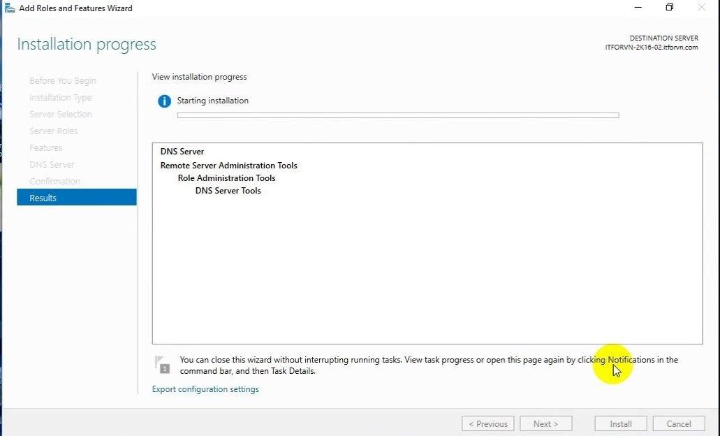 ITFORVN Bài 3 Cấu hình DNS Server 18 e1491872084597 - [Tự học MCSA MCSE 2016]-Lab 3- Cấu hình DNS Server trên Windows Server 2016