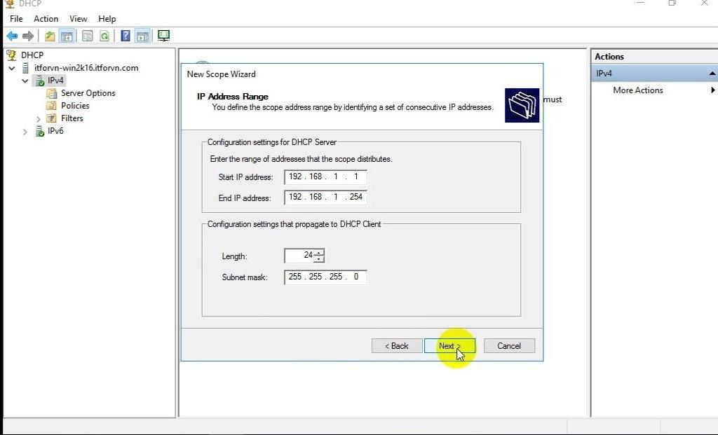 ITFORVN Bài 4 Cấu hình DHCP Server Backup Restore 0791 e1491958455783 - [Tự học MCSA MCSE 2016]-Lab 4- Cấu hình DHCP Server và Backup Restore