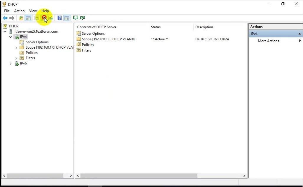 ITFORVN Bài 4 Cấu hình DHCP Server Backup Restore 0891 e1491959508896 - [Tự học MCSA MCSE 2016]-Lab 4- Cấu hình DHCP Server và Backup Restore