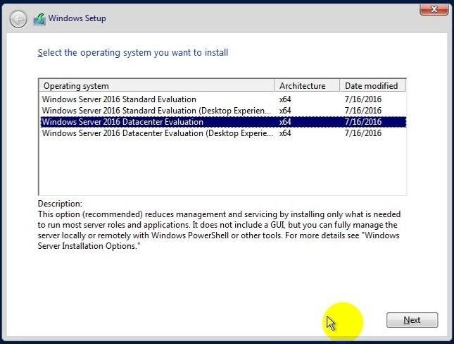 ITFORVN Bài 7 Cài đặt Windows Server Core 2016 0829 e1492639919797 - [Tự học MCSA MCSE 2016]-Lab 7- Cài đặt Windows Server Core 2016