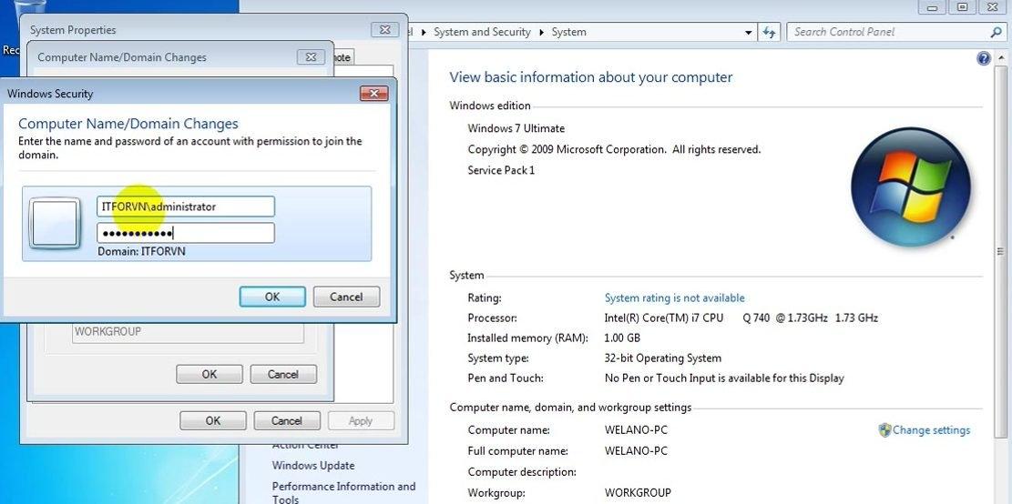 ITFORVN Bài 8 Part 1 Nâng cấp Windows Server Core lên Domain Controller Join Domain 2120 e1492778233880 - [Tự học MCSA MCSE 2016]-Lab 8- Part1-Nâng cấp Windows Server Core 2016 lên Domain Controller và join domain