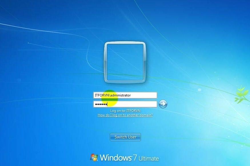 ITFORVN Bài 8 Part 1 Nâng cấp Windows Server Core lên Domain Controller Join Domain 2282 e1492778418893 - [Tự học MCSA MCSE 2016]-Lab 8- Part1-Nâng cấp Windows Server Core 2016 lên Domain Controller và join domain