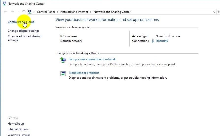 ITFORVN Bài 8 Part2 Quản trị Windows Server Core 2016 bằng tool RSAT 0695 e1492865797975 - [Tự học MCSA MCSE 2016]-Lab 8-Part 2- Quản trị Windows Server Core 2016 bằng tool RSAT