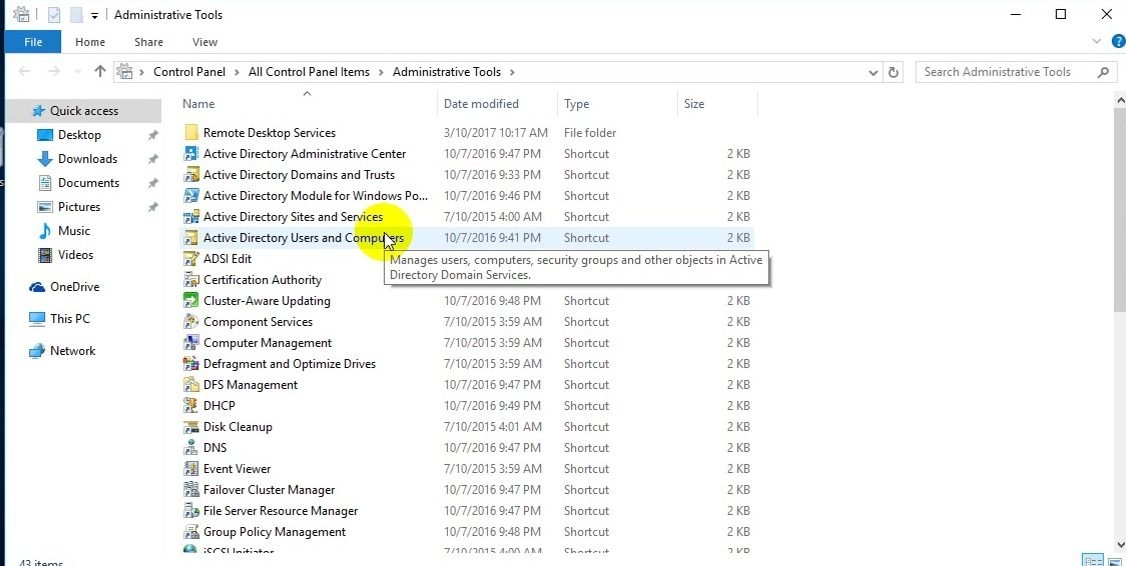 ITFORVN Bài 8 Part2 Quản trị Windows Server Core 2016 bằng tool RSAT 0723 e1492865909722 - [Tự học MCSA MCSE 2016]-Lab 8-Part 2- Quản trị Windows Server Core 2016 bằng tool RSAT