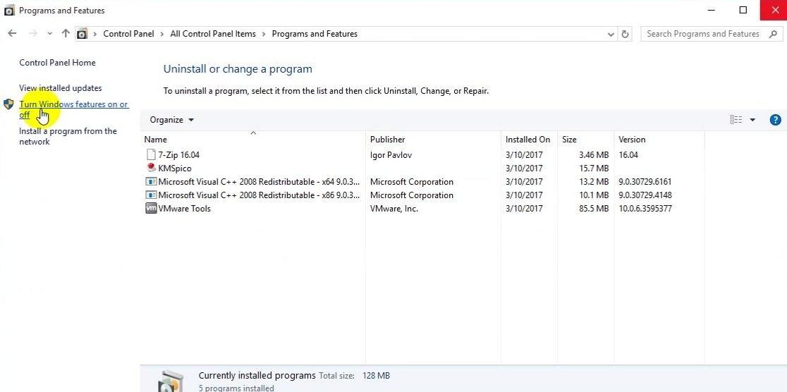 ITFORVN Bài 8 Part2 Quản trị Windows Server Core 2016 bằng tool RSAT 0737 e1492865996834 - [Tự học MCSA MCSE 2016]-Lab 8-Part 2- Quản trị Windows Server Core 2016 bằng tool RSAT