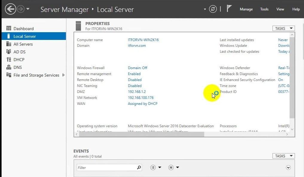 ITFORVN Bài 9 Cấu hình NIC Teaming 0333 e1492987731965 - [Tự học MCSA MCSE 2016]-Lab 9- Cấu hình NIC Teaming trên Windows Server 2016