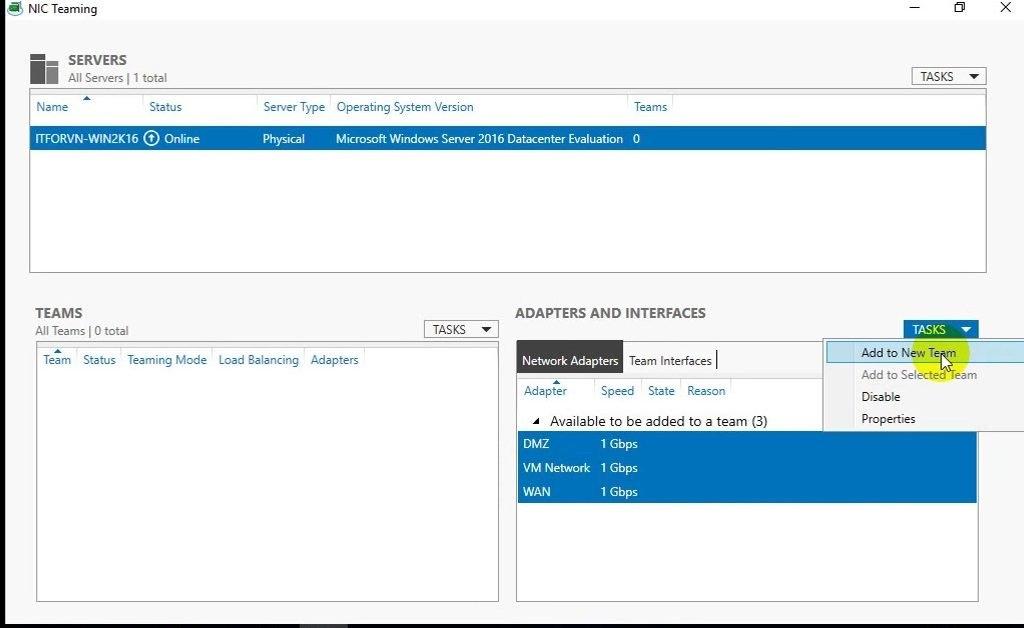 ITFORVN Bài 9 Cấu hình NIC Teaming 0373 e1492987901725 - [Tự học MCSA MCSE 2016]-Lab 9- Cấu hình NIC Teaming trên Windows Server 2016