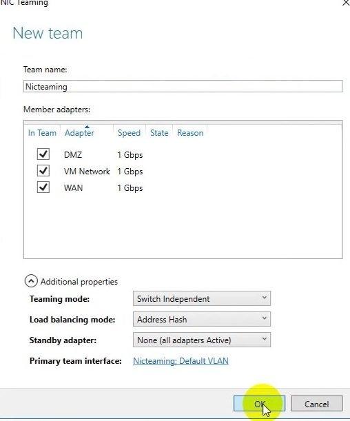 ITFORVN Bài 9 Cấu hình NIC Teaming 0561 e1492988630237 - [Tự học MCSA MCSE 2016]-Lab 9- Cấu hình NIC Teaming trên Windows Server 2016