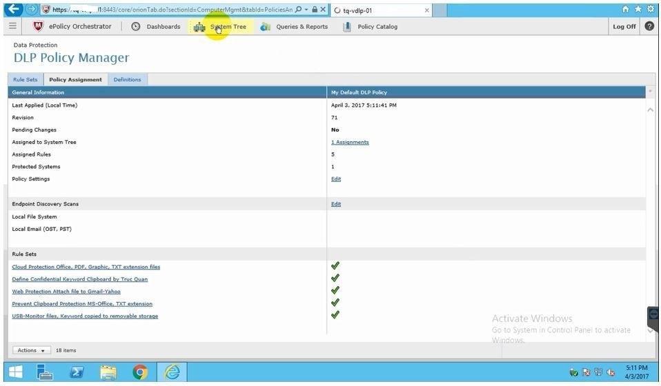 ITFORVN.COM 07-26 Bảo Mật Dữ Liệu Với McAfee Data Loss Prevent – Phần 3(Cuối)
