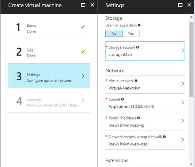 ITFORVN.COM 1-20 Cấu hình IIS frontend và SQL backend với Azure Resource Manager