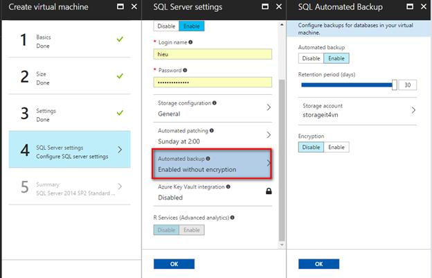 ITFORVN.COM 1-31 Cấu hình IIS frontend và SQL backend với Azure Resource Manager