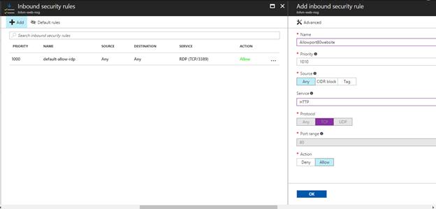 ITFORVN.COM 1-45 Cấu hình IIS frontend và SQL backend với Azure Resource Manager