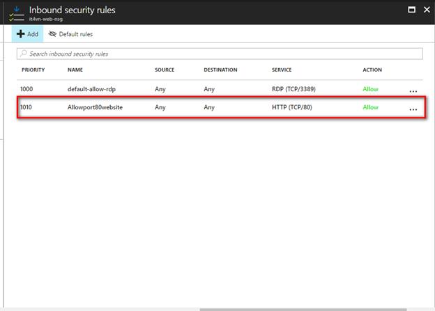 ITFORVN.COM 1-46 Cấu hình IIS frontend và SQL backend với Azure Resource Manager