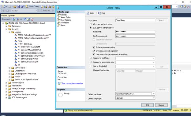 ITFORVN.COM 1-56 Cấu hình IIS frontend và SQL backend với Azure Resource Manager