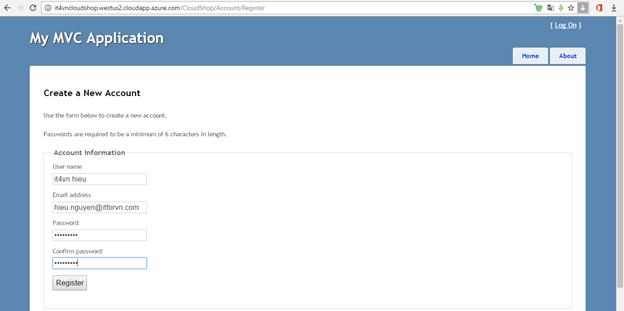 ITFORVN.COM 1-66 Cấu hình IIS frontend và SQL backend với Azure Resource Manager