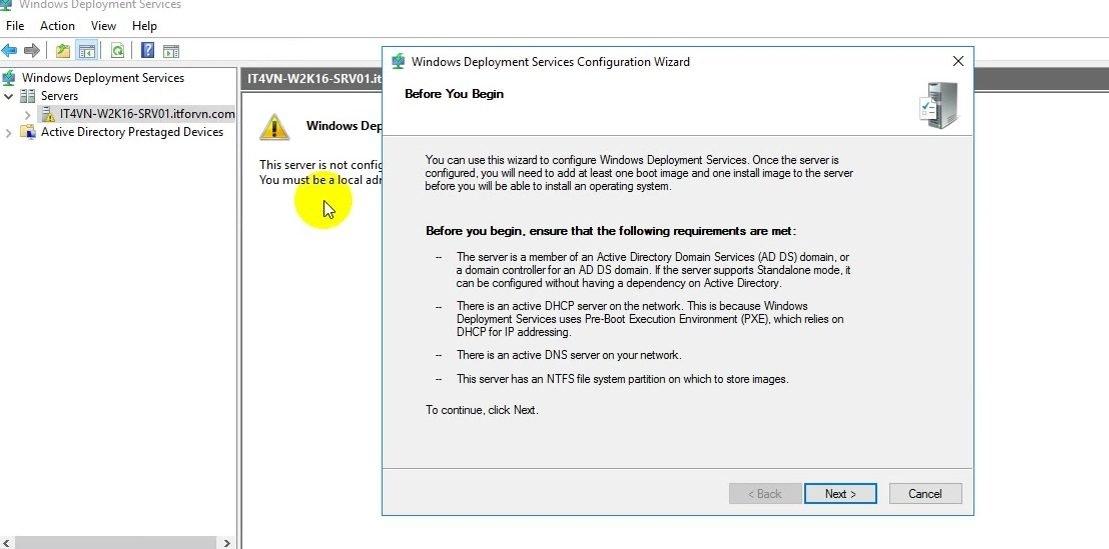 ITFORVN Bài 13 Cấu hình Windows Deployment Service 2016 0797 e1494276817597 - [Tự học MCSA MCSE 2016]-Lab 13- Cấu hình Windows Deployment Service 2016 (WDS)