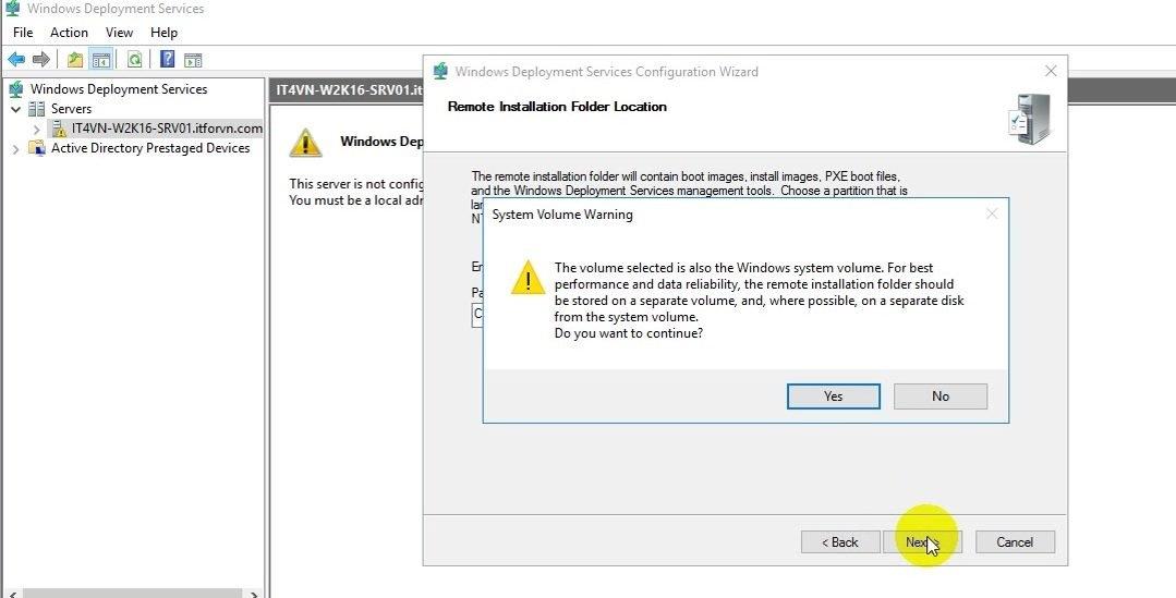 Tự học mcse 2016-Lab 13- Cấu hình Windows Deployment Service