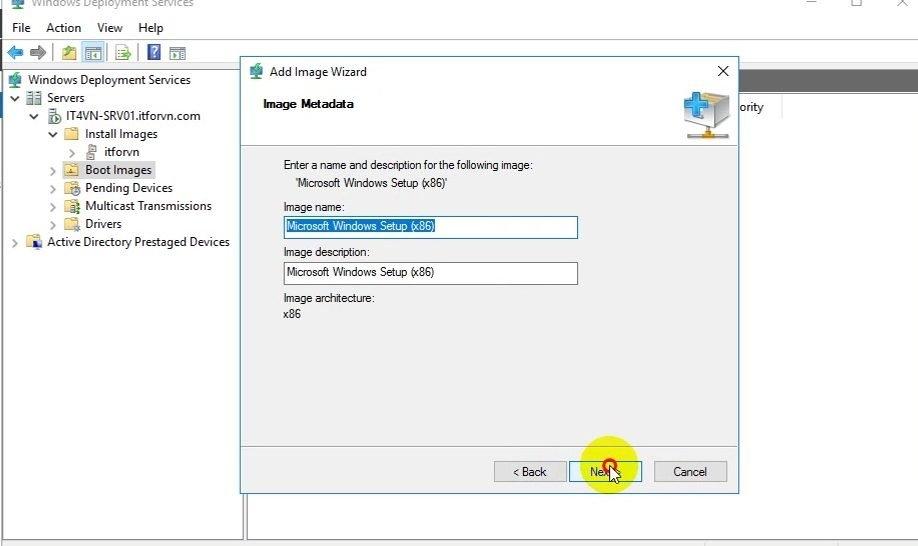 ITFORVN Bài 13 Cấu hình Windows Deployment Service 2016 1354 e1494284091542 - [Tự học MCSA MCSE 2016]-Lab 13- Cấu hình Windows Deployment Service 2016 (WDS)