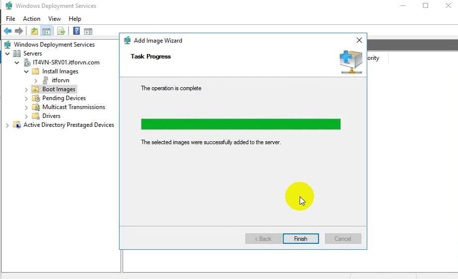 ITFORVN Bài 13 Cấu hình Windows Deployment Service 2016 1368 e1494284177152 - [Tự học MCSA MCSE 2016]-Lab 13- Cấu hình Windows Deployment Service 2016 (WDS)