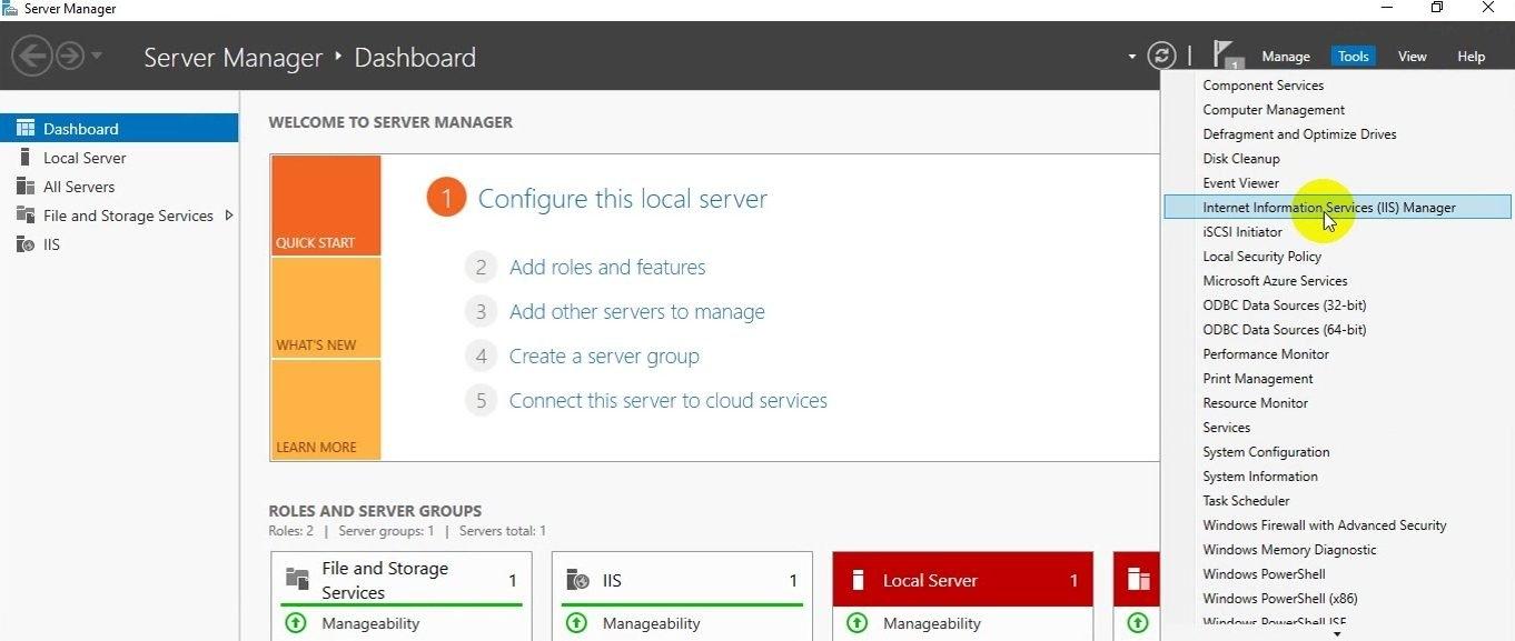 ITFORVN Bài 14 Cấu hình IIS Web Server HTTP HTTPS trên Windows Server 2016 0719 e1494846097477 - [Tự học MCSA MCSE 2016]-Lab 14-Cấu hình IIS Web Server trên Windows Server 2016