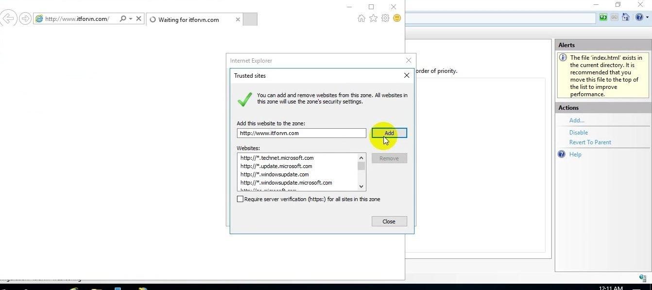 ITFORVN Bài 14 Cấu hình IIS Web Server HTTP HTTPS trên Windows Server 2016 0960 e1494848530226 - [Tự học MCSA MCSE 2016]-Lab 14-Cấu hình IIS Web Server trên Windows Server 2016