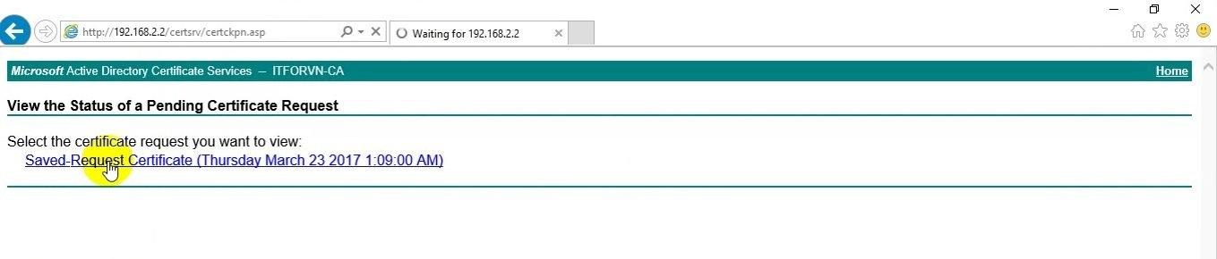 ITFORVN Bài 14 Cấu hình IIS Web Server HTTP HTTPS trên Windows Server 2016 2133 e1494894616703 - [Tự học MCSA MCSE 2016]-Lab 14-Cấu hình IIS Web Server trên Windows Server 2016