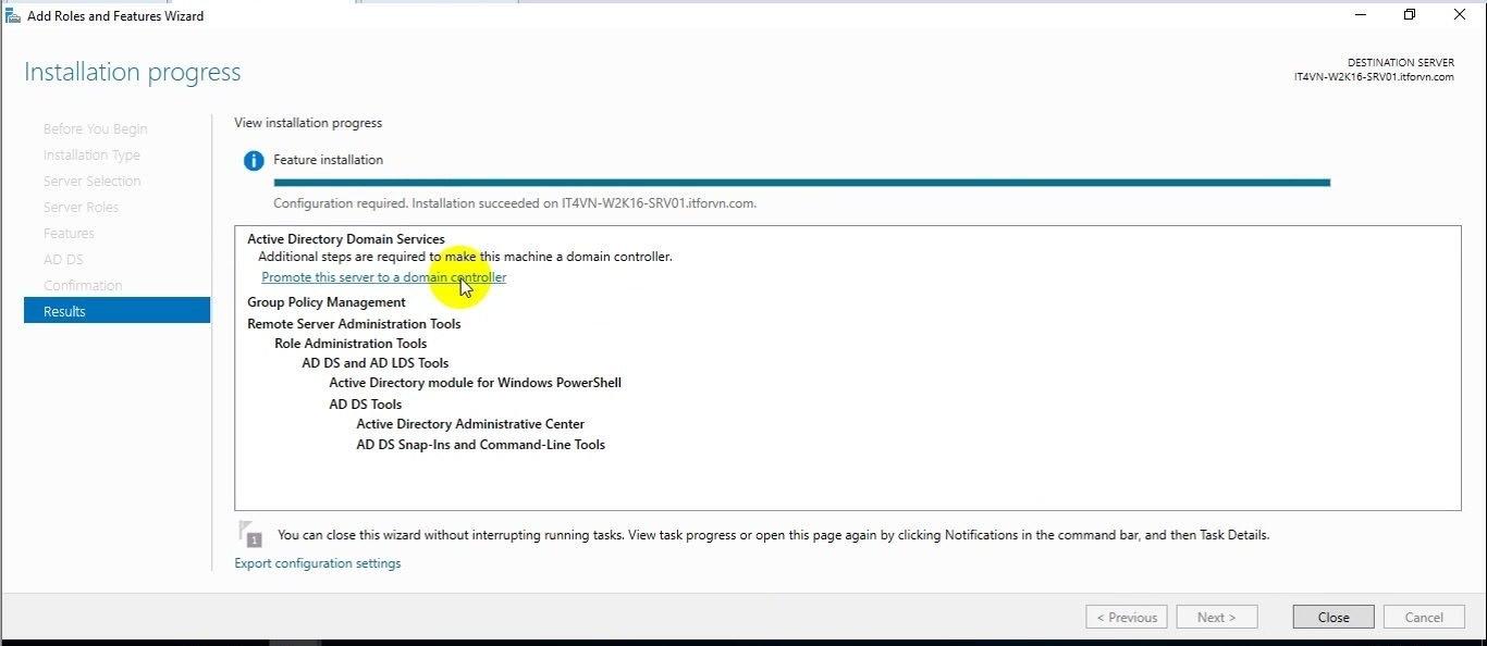 ITFORVN Bài 15 Cấu hình Read Only Domain Controller trên Windows Server 2016 0670 e1495279571235 - [Tự học MCSA MCSE 2016]-Lab 15- Cấu hình Read-Only Domain Controller trên Windows Server 2016