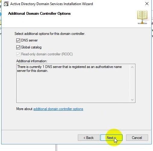 ITFORVN Bài 15 Cấu hình Read Only Domain Controller trên Windows Server 2016 1481 e1495302914188 - [Tự học MCSA MCSE 2016]-Lab 15- Cấu hình Read-Only Domain Controller trên Windows Server 2016