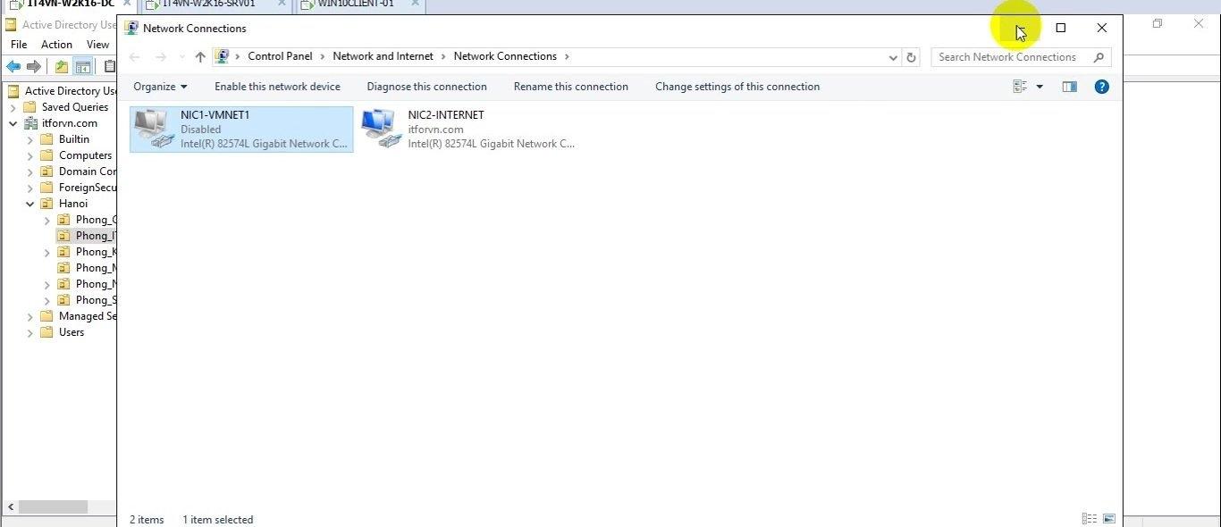 ITFORVN Bài 15 Cấu hình Read Only Domain Controller trên Windows Server 2016 1952 e1495305184159 - [Tự học MCSA MCSE 2016]-Lab 15- Cấu hình Read-Only Domain Controller trên Windows Server 2016